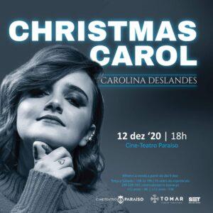 Carolina Deslandes dá concerto em Tomar este Natal