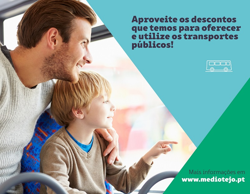Médio Tejo. Redução nos transportes em 2021